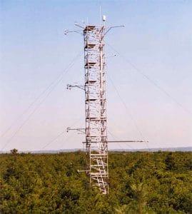 Abb. 3: Forstmeteorologischer Messturm